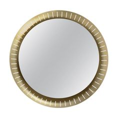 Manufactured by STILNOVO ITALY Circa 1960 Impressive in size and very rare, this mirror manufactured by Stilnovo features a perforated golden aluminum frame and it& back-lit by a circular neon light. 3 available. SIZE Diameter: 84 cm STOCK 3 Available Backlit Mirror, Wall Mirrors, Chalet Modern, Mirror Illusion, Illuminated Mirrors, Vintage Wall Lights, Long Walls, Contemporary Lamps, Venetian Mirrors