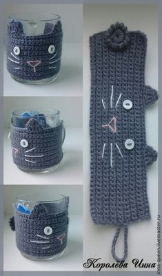 Crochet afghans 598204762992691424 - Crochet afghans 625437466981213249 – Cubretazas al crochet de gatitos – imperdibles! DIA DEL AMIGO 🙂 by Divonsir Bor… – Diana Del Valle – Source by catherine_donni Source by Chat Crochet, Crochet Mignon, Crochet Coffee Cozy, Crochet Cozy, Crochet Gifts, Coffee Cozy Pattern, Crochet Cat Toys, Coffee Cup Cozy, Doilies Crochet