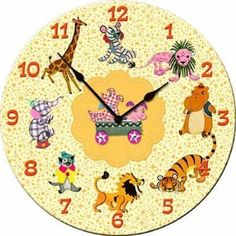 Image detail for -Mother Goose Wall Clock