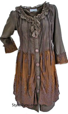 Pretty Angel Clothing Evelyn Top Cardigan Dress In Coffee Cardigans For Women, Coats For Women, Jackets For Women, Clothes For Women, Pretty Outfits, Cool Outfits, Fashion Outfits, Fall Fashion, Fashion Ideas