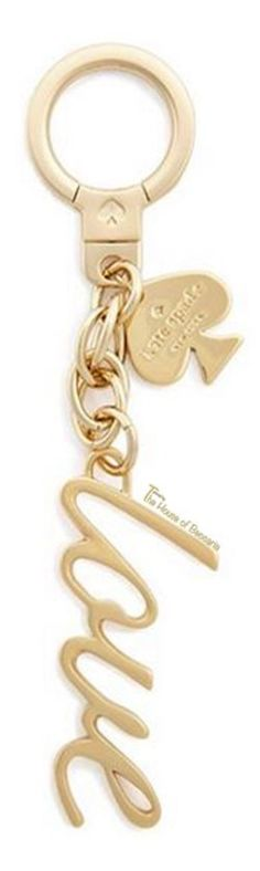 ~Kate Spade 'Say Yes - Love' Keychain | House of Beccaria#