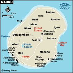 Nauru, officially the Republic of Nauru and formerly known as Pleasant Island, is an island country in Micronesia in the South Pacific.