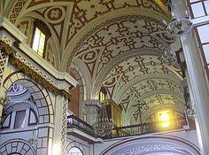 Arte Barroco en Lima. Iglesia y Convento de San Francisco.