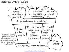 Essay writing activities for children