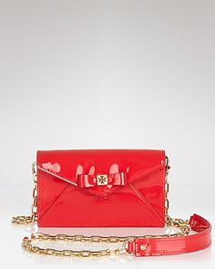 Tory Burch Crossbody - Bow Envelope | Bloomingdale's