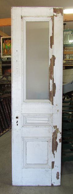 Norbury ja4 white primed internal french doors interior for Narrow barn door