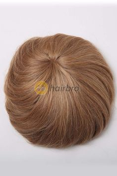 Top quality mono base hair replacement, durable men's toupee design with excellent breathability.