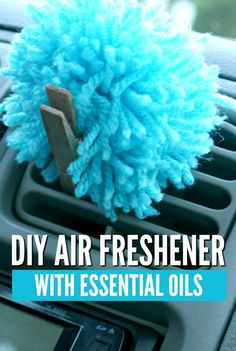 "Get ready to hear, ""YOUR CAR SMELLS AMAZINGLY GOOD!"" Make your own car air freshener with essential oils, to avoid harsh chemicals and fragrances that may irritate your sinuses or allergies."