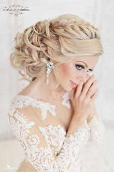 Coiffure De Mariage : Featured Hairstyle: Websalon Wedding Anna Komarova; Featured Photo: Liliya Fad