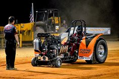 "The ""Firing Point"" Modified Mini pulling tractor"
