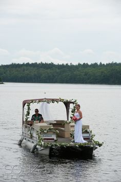 Perfect way to arrive for your wedding at The Lakehouse at Keowee Vineyards!