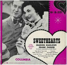 "Marlowe, Marion (+ Frank Parker) / Sweethearts | Columbia B-331 | EP, 7"" Vinyl 