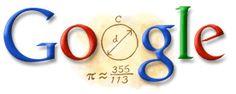 Zu Chongzhi 2009 Een Doodle in het teken van Zu Chongzhi op de homepage van Google China. Zu Chongzhi was een Chinese astronoom.