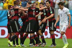 Alemania 1 - EEUU 0