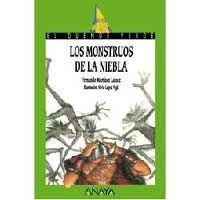 Los monstruos de la niebla  Fernando Martínez, Nivio López (il.)  Un joven vikingo obligado a enfrentarse a viejo temores