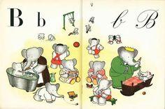 Le figure dei libri » Blog Archive » L'alfabeto di Babar, tutte le tavole sul sito della BNF