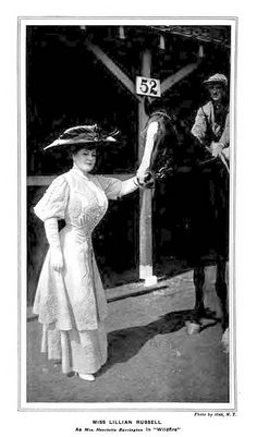 1908 Vintage Theatre - Lilian Russell in 'Wildfire'