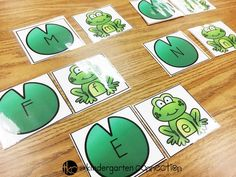 These frog letter activities are so fun for spring literacy centers in Pre-K and Kindergarten! Just grab the FREE frog letter printables! Frogs Preschool, Alphabet Activities Kindergarten, Frog Activities, Kindergarten Centers, Preschool Literacy, Letter Activities, Learning Letters, Spring Activities, Literacy Centers