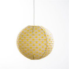 Chambre on pinterest ikea mobiles and origami for Lampe boule papier ikea