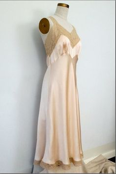 1940s Fischer Slip ... I just love slips so much. They are the most feminine-feeling things ever.