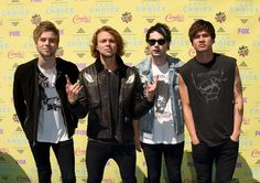 5 Seconds of Summer aux Teen Choice awards