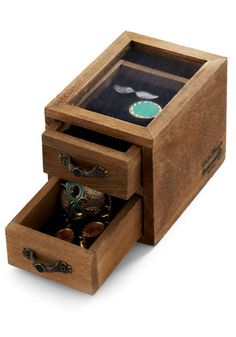 Tiny Treasures Jewelry Box | Mod Retro Vintage Decor Accessories | ModCloth.com