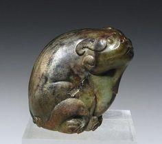 A Ming Dynasty Jade Qilin / Mythical Beast