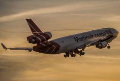 A great MD-11 shot - Martinair Cargo