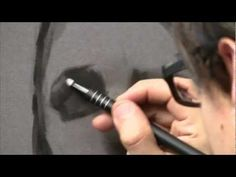 // Art - Tutorial // Video tutorial on how to draw the human eye in charcoal. Artist is David Jon Kassan (https://twitter.com/#!/davidkassan) // Found by @RandomMagicTour (https://twitter.com/randommagictour) - Sasha Soren