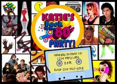 Totally Awesome 80's theme party ideas and 80's party ideas for games!