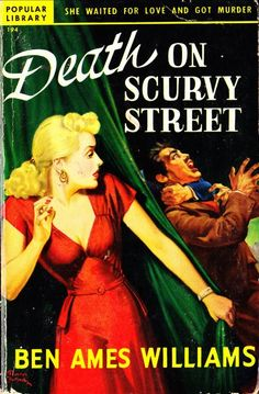 Popular Library, 1949. Cover art by Rudolph Belarski.