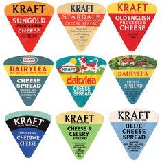 Kraft labels  —  #kraft #etichetta #vintage #logo #tipografia