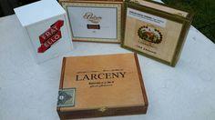 Cigar Box Larceny by La Zona Low Wooden Chest by IndustrialPlanet