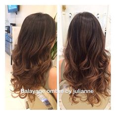 balayage ombre on dark hair straight - Google Search