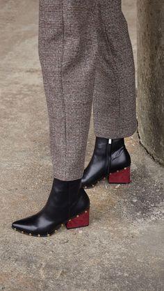 Vegan Faux Leather Ivana Ankle Boots – LOÉIL