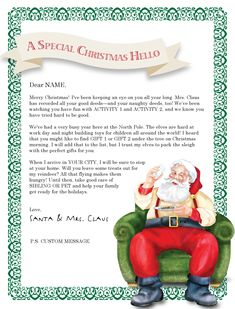 Christmas Letter Borders And Templates Letter Templates Letter