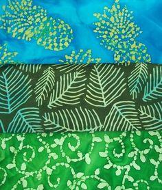 Fabric Batik Hawaiian Tropical Theme Assorted Colors Prints Quilt Cotton BTY | eBay