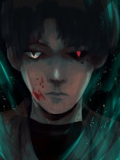 Urie Kuki (Tokyo Ghoul :RE) by sapphire22crown