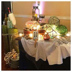 #nauticalwedding at the #smithfieldcenter ....#wedding #weddingdecor #hrvawedding #weddingprofessionals #catering #weddingcatering