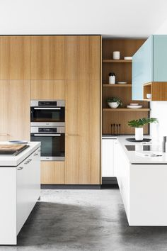 As the size of the Australian kitchen diminishes, design ideas adopted from Europe have more relevance.