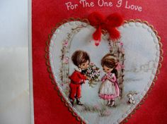 Vintage Hallmark Valentines Day card with by TreasureLoveCo, $5.00