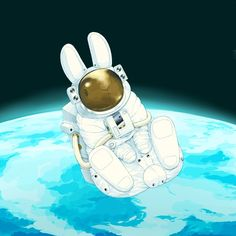 When Black Rabbit Back to the moon