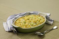 A very popular cheesy potatoes casserole. One bowl and one pan is all you need. It's perfect when you're serving a crowd.