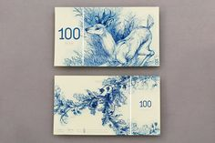 euro currency design by art student