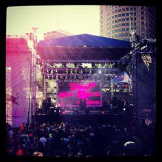 Détroit festival Movement