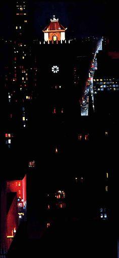 Georgia O'Keeffe new york paintings | New York Night
