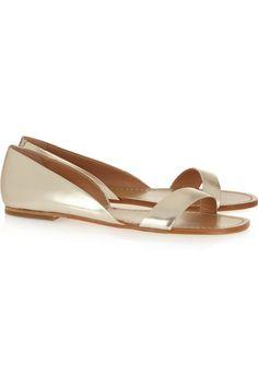 c7da2aa9d4d8 Sigerson Morrison - Kameda metallic leather sandals