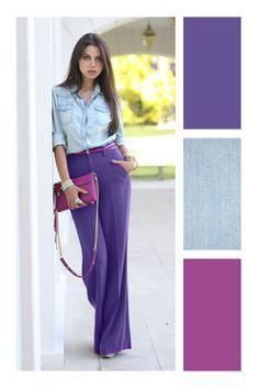 color combinations for clothescolor Colour Combinations Fashion, Color Combinations For Clothes, Color Blocking Outfits, Fashion Colours, Colorful Fashion, Colour Schemes, Color Trends, Color Combos, Mode Bcbg