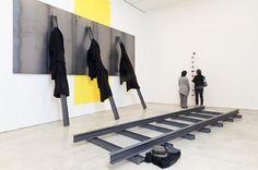 Jannis Kounellis, Installation view, 2013 on ArtStack #jannis-kounellis #art