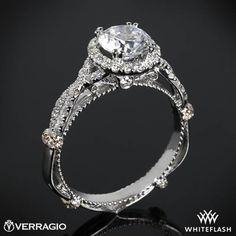 Okay. It's official. I've developed a firm love affair with Verragio. AND THEY MAKE THEM UNDER A SIZE 5.